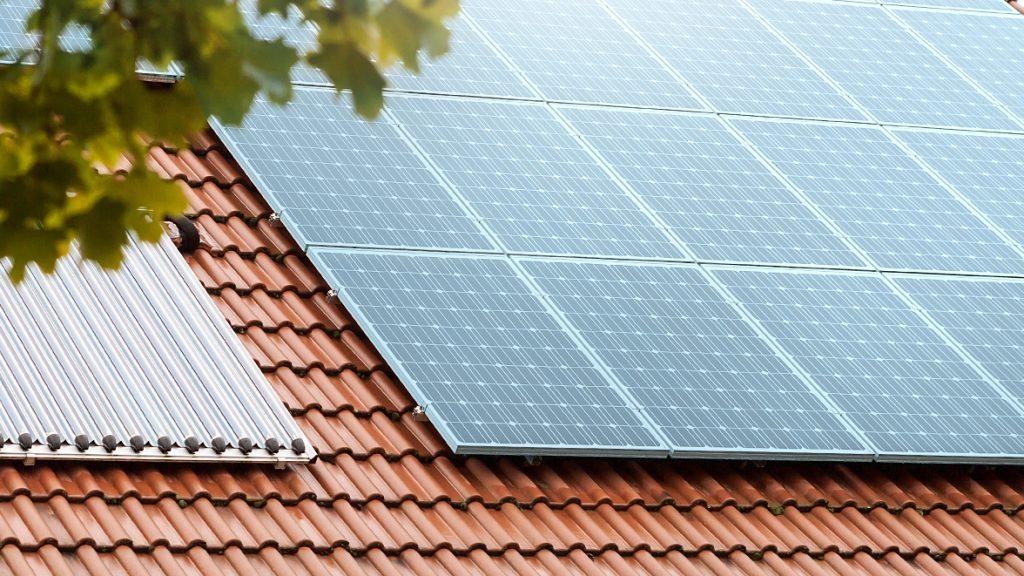 Heizungsanlage in Form von Solarheizung