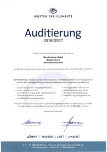 Auditierung Lehmler GmbH 2016/2017