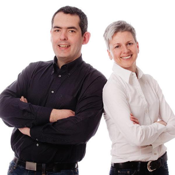 Lydia und Richard Rockermeier, die Badgestalter, Abensberg