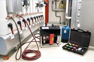 Gerät zur Aufbereitung von Heizungswasser